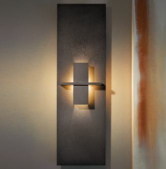 Long Vertical Wall Sconces : Hubbardton Forge-Aperture Wall Sconce Wolfers