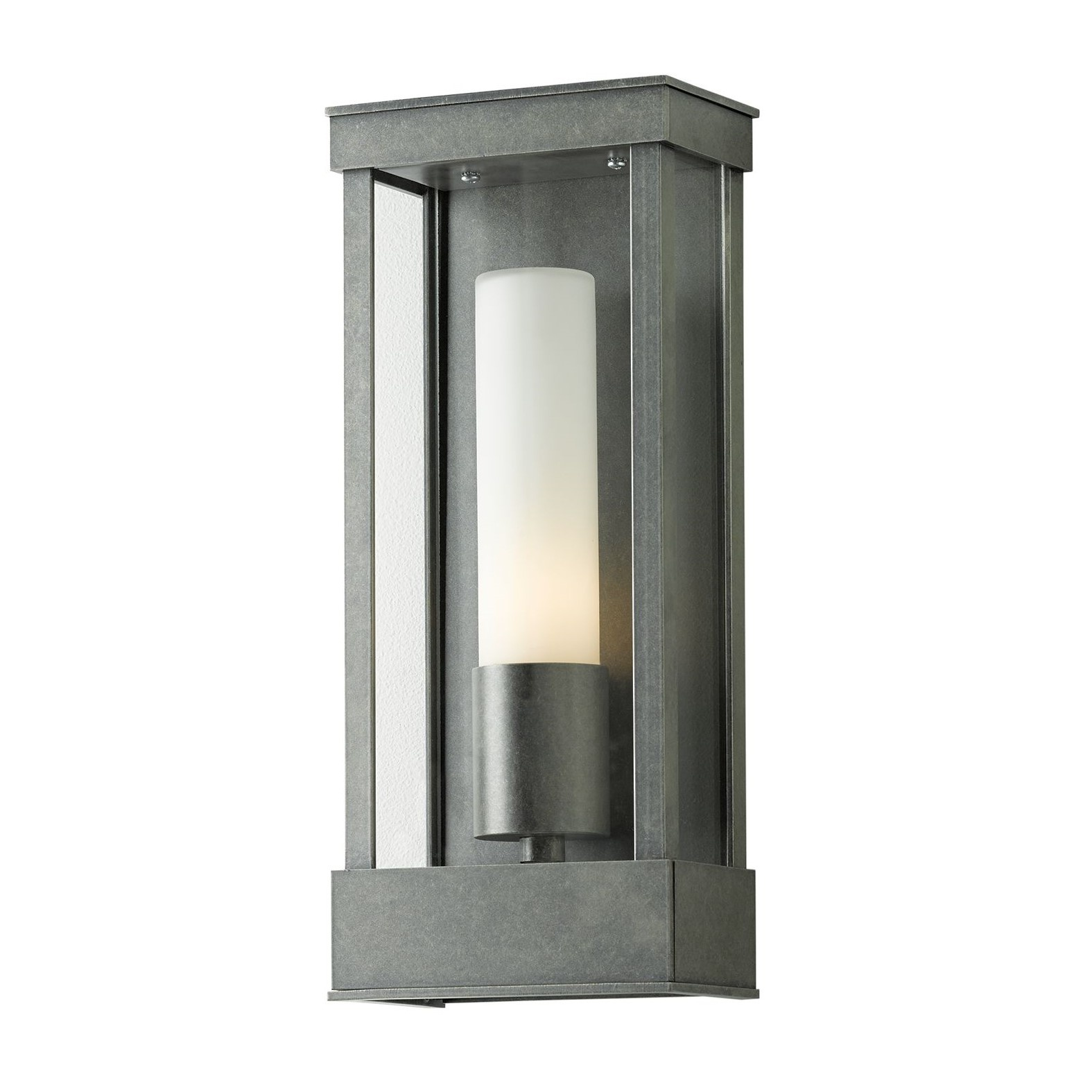 Hubbardton Forge 304320 Portico Outdoor Sconce in Coastal Burnished Steel