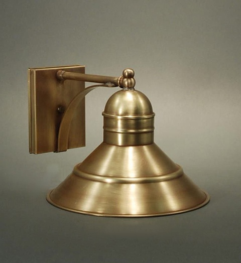 Northeast Lantern 3421 Outdoor Barn Sconce in Antique brass