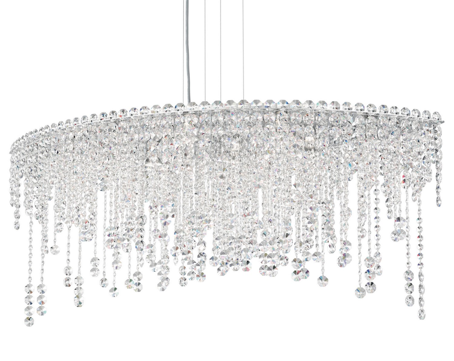 Schonbek CH4811 Chantant Oval Chandelier with Heirloom Crystal