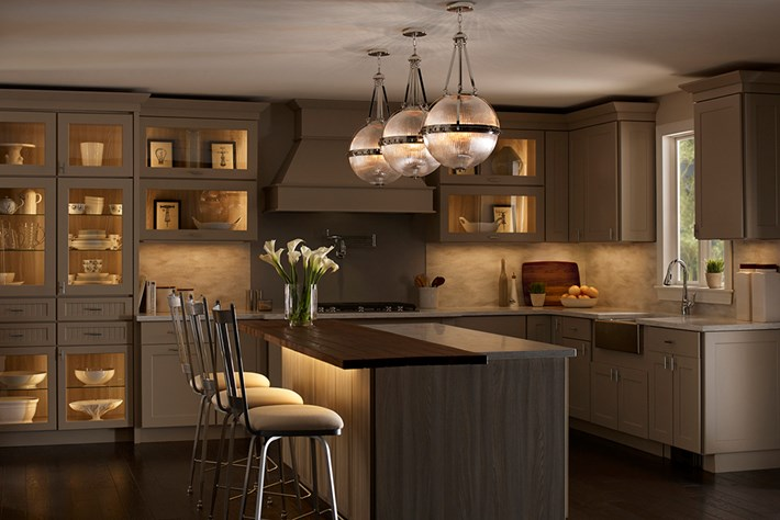 Kitchen In-cabinet Lighting