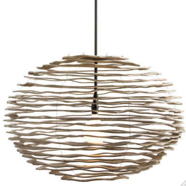 This pendant from Arteriors would look so fabulous in many areas of the home.