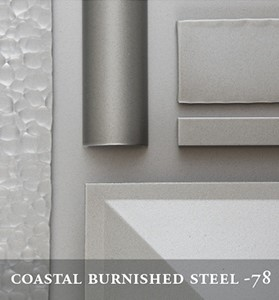 Hubbardton's Coastal Burnished Steel