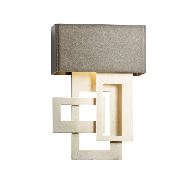 Hubbardton Forge's Collage Sconce Features Mixed Metals