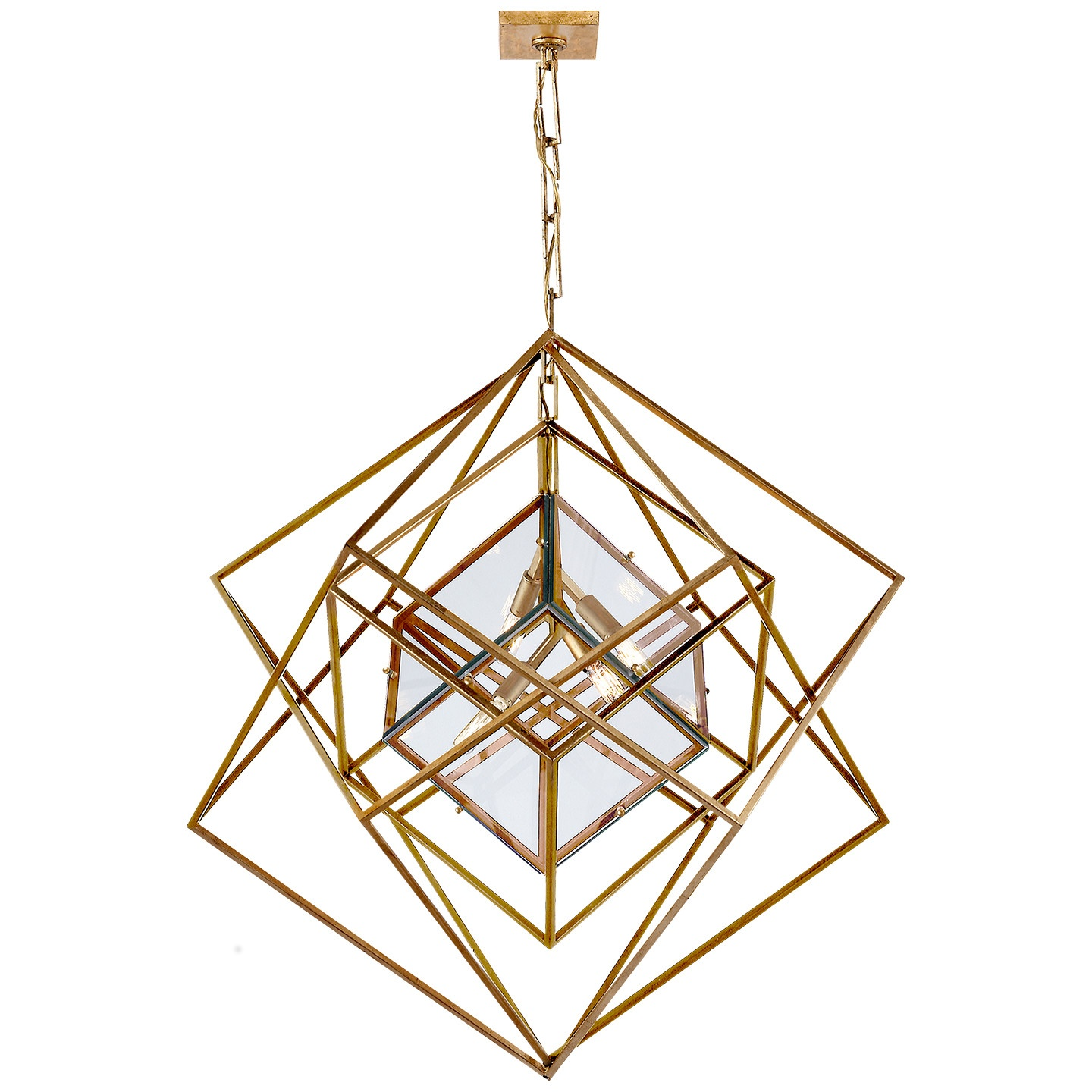 We're big fans of the Cubist Chandelier!