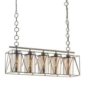 Currey and Company offers many fun and unique lighting options.