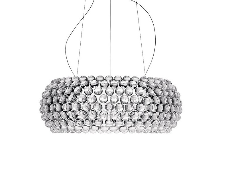 Foscarini's Caboche Suspension is both glamourous and minimal.