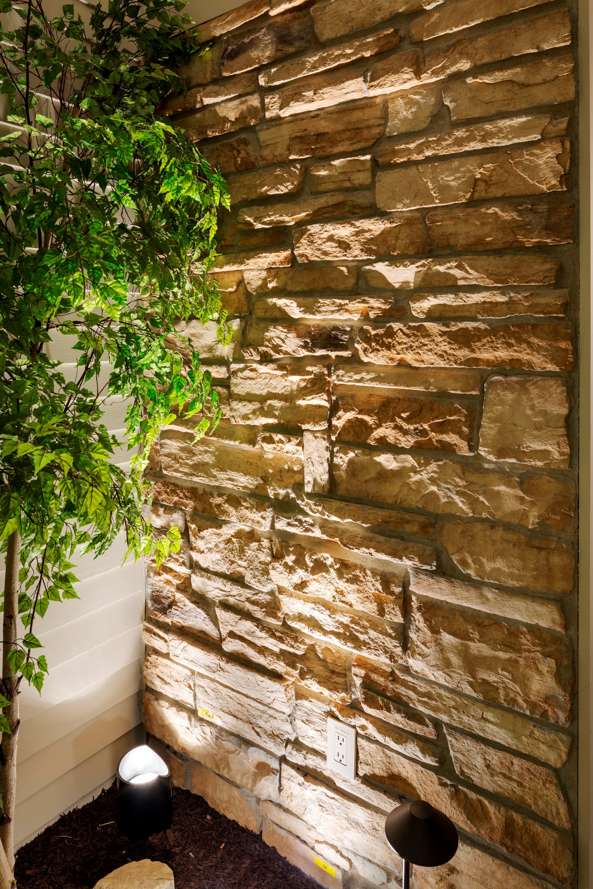 Grazing Exterior Stone Wall
