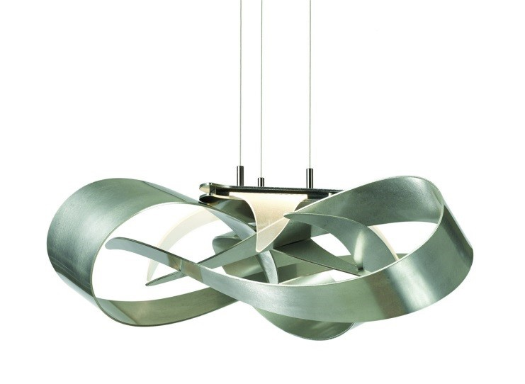 Hubbardton Forge's Flux Pendant is a good example of beauty and utility.
