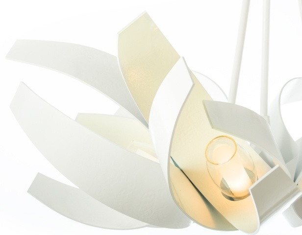 Hubbardton Forge's new gloss white looks fantastic!