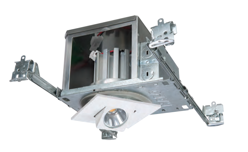 This is a new construction recessed LED Gimbal.