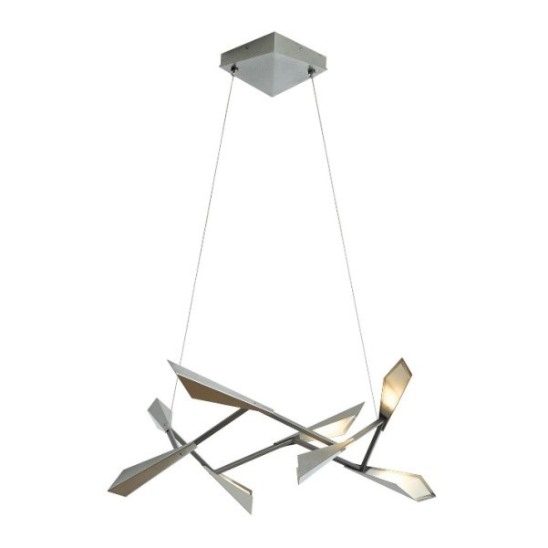 Hubbardton Forge's Quill suspension is part sculpture, part light fixture.