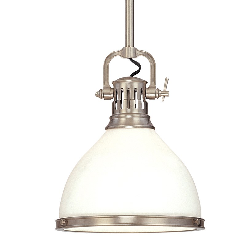 The Randolph pendant is a great transitional fixture.