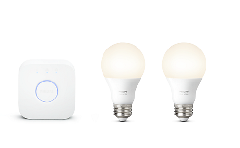 Philips Hue comes in many flavors, such as this tunable white starter kit.