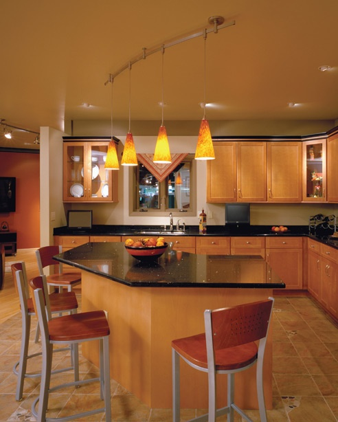 Recessed LED Lighting is often used for ambient lighting.