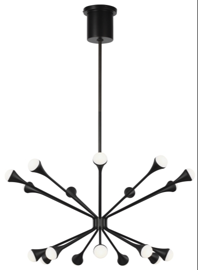 Another New Tech Lighting Collection, the Lody Collection is Also Stunning in Matte Black