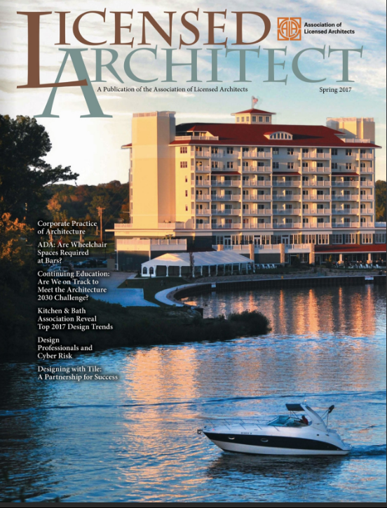 The Spring Issue of Licensed Architect