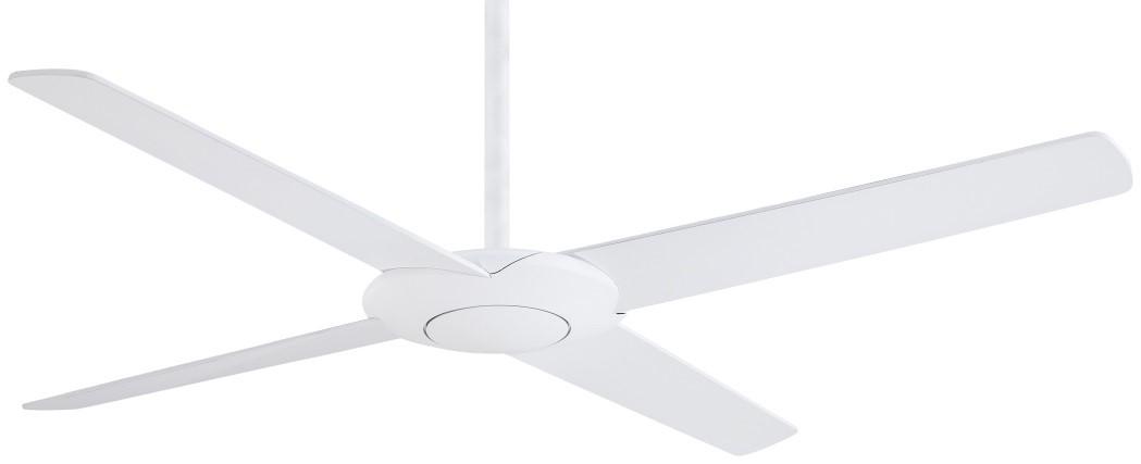 Minka Aire's Pancakle Fan has a sleek contemporary look.