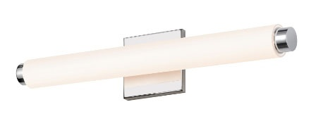 Sonneman's Tubo vanity light has customizable trims!