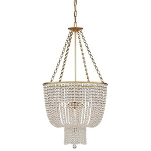 Visual Comfort's Jaqueline Chandelier has styling both old and new.