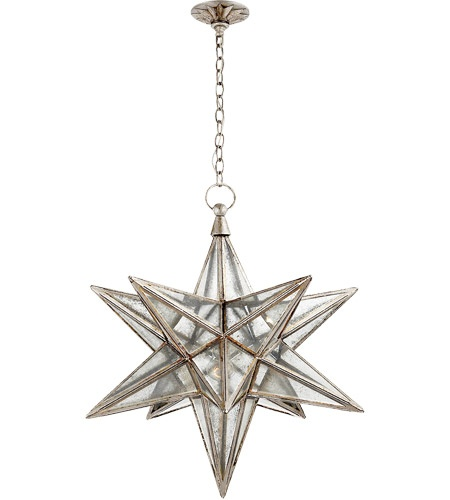 Visual Comfort's Chapman Moravian star is gorgeous.