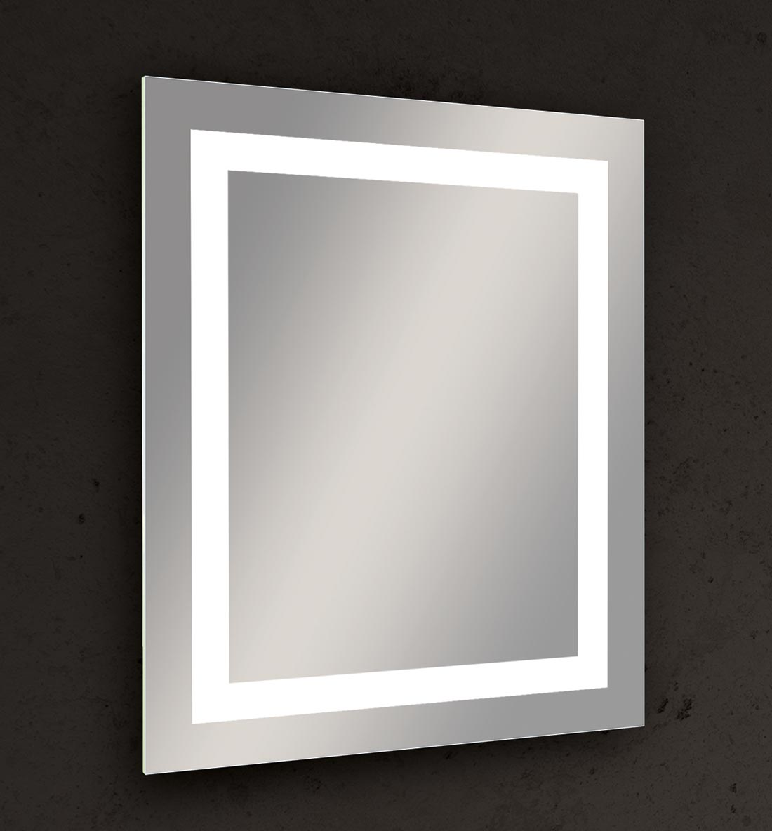 You can't go wrong with Seura's classic contemporary Allegro Lighted Mirror.