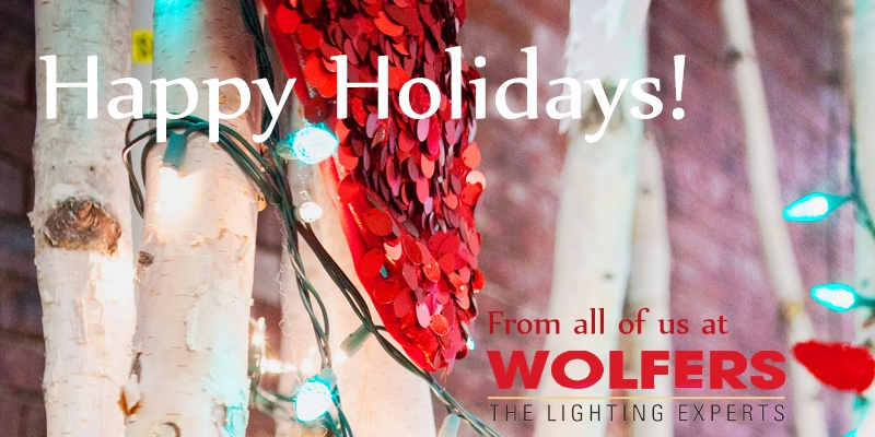 Happy Holidays From Wolfers Lighting!