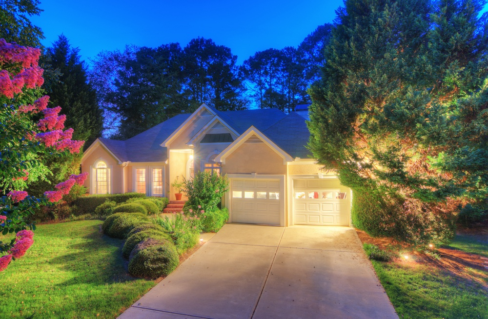 Outdoor Lighting enhances your curb appeal.