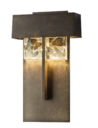 "Hubbartdon Forge's ""Shard"" Sconce"